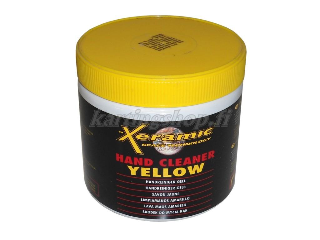 Xeramic käsienpuhdistusaine 600ml (keltainen)