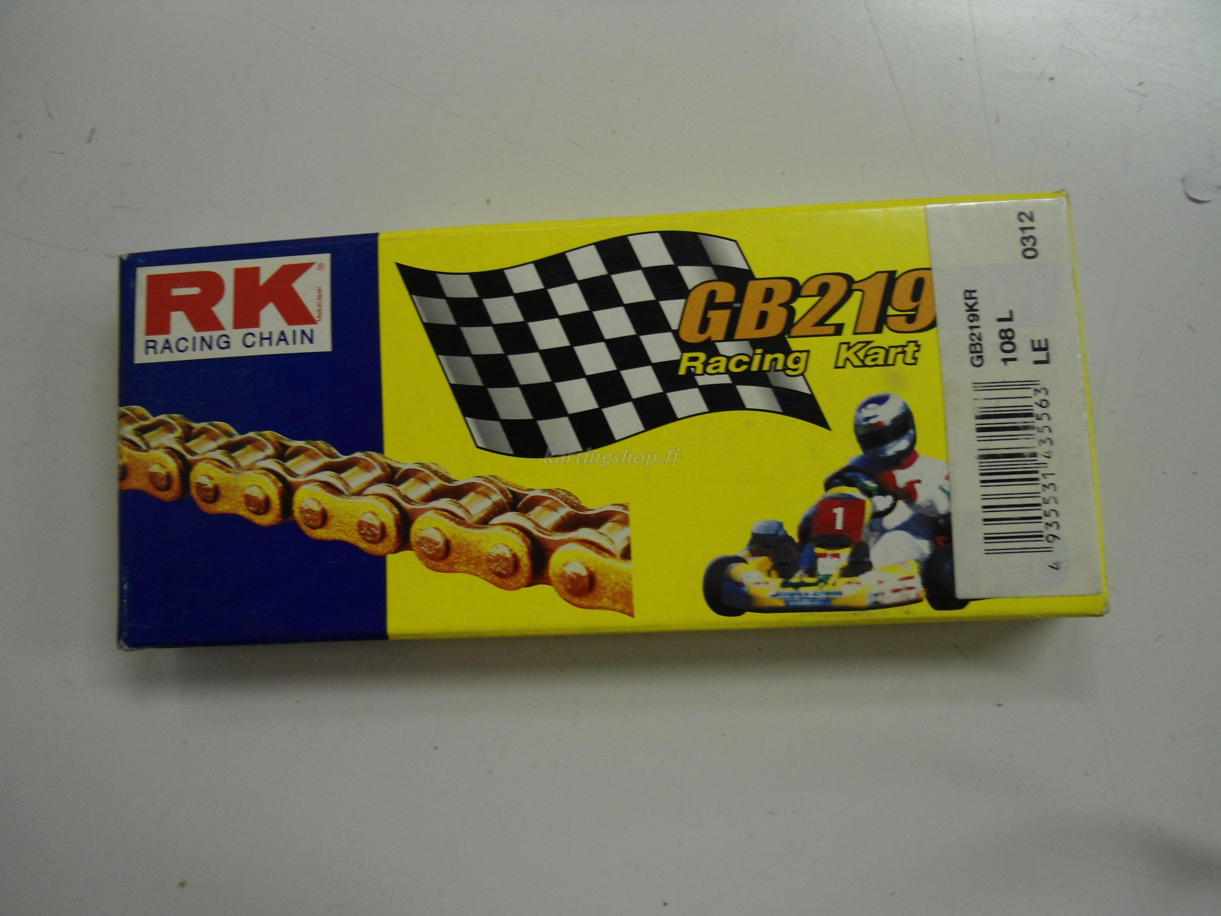 RK 219 karting GD/BL ketju 108L