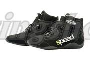 Speed karting ajokenkä musta