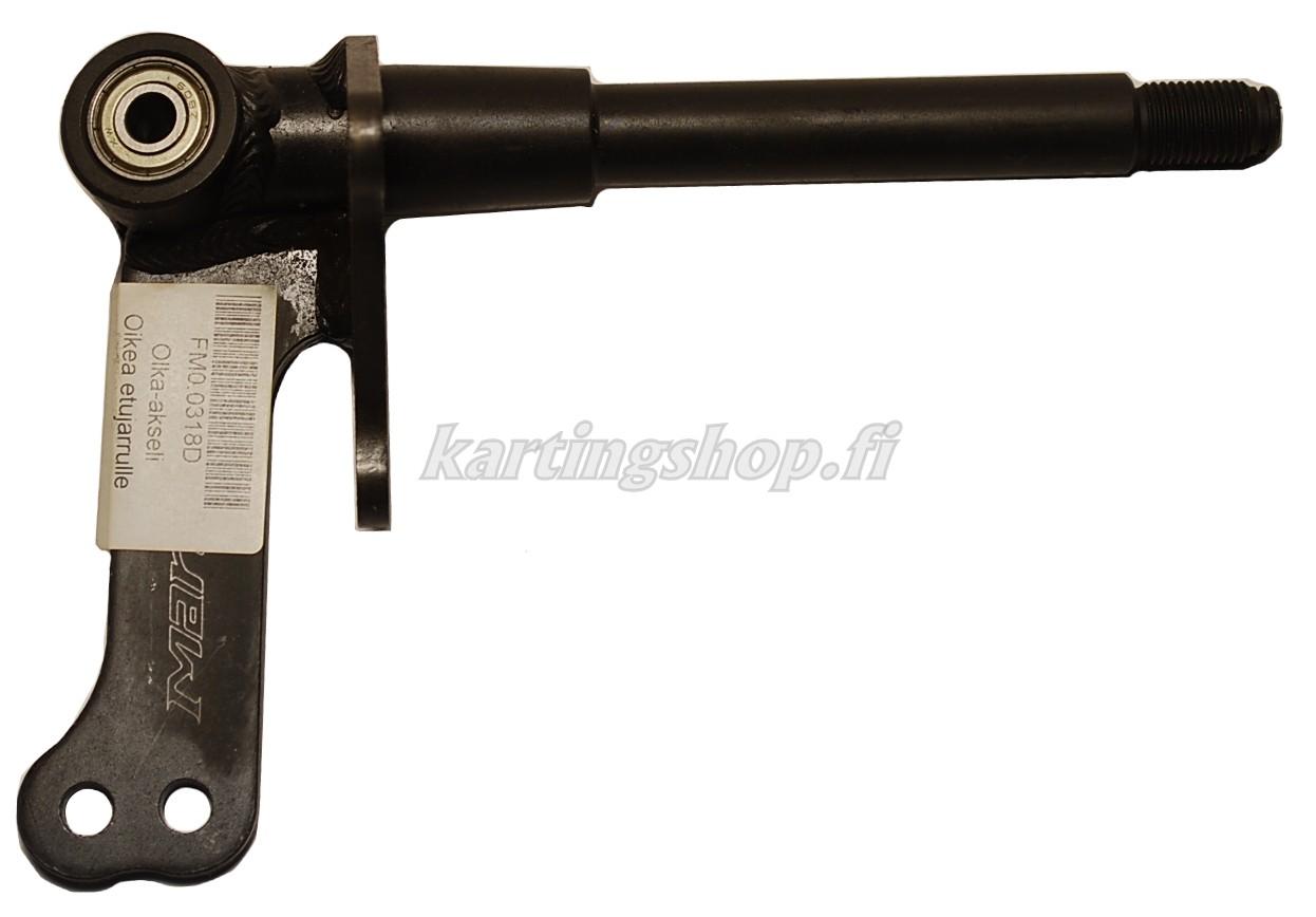 Olka-akseli Oikea Ø17mm etujarrulle  (100cc)