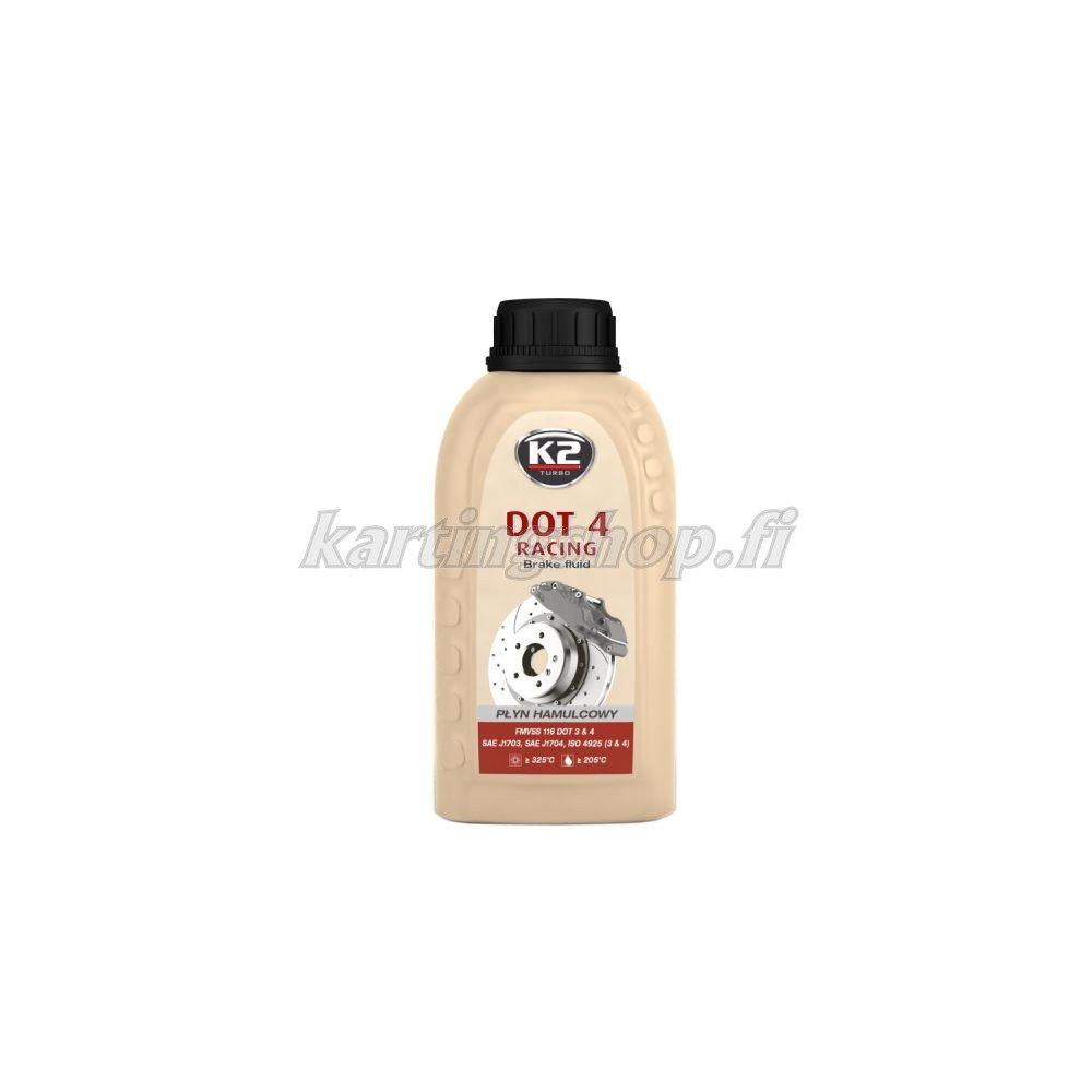 K2 Jarruneste DOT 4 Racing 250 ml