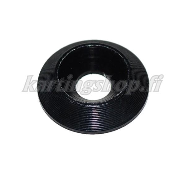 Kartioprikka 6x18mm alumiini musta