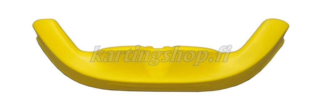 Etuspoileri KG Unico/Stilo keltainen, lev. 106cm