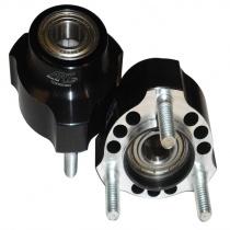 Etunapa alumiini Ø17 pit.40mm (keskiö Ø40mm) ART-GP TS-05, Huom hinta/kappale