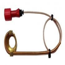 Alfano lämpötila-anturi MAX 180°C, tulpan alle NTC 45cm, BX Box/Pro 3/ EVO