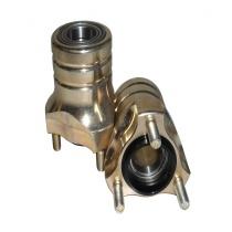 Etunapa magnesium Ø25mm pituus 76mm (keskiö Ø40mm), Huom hinta/kappale