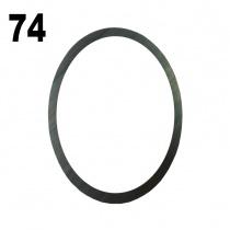 Iame X30 Päittäis-säätölevy simmi 0,1mm (6206)