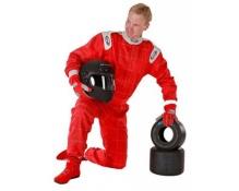 Speed karting ajohaalari punainen