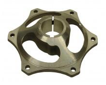 Rataskeskiö Ø35mm alumiini  6mm kiila