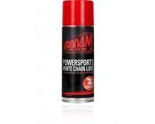 Vrooam Powersports Valkoinen ketjurasva , 400 ml