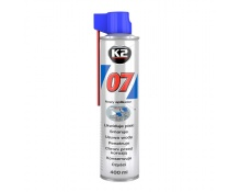 K2 yleisvoitelu ja puhdistusaine 400 ml pillipullo